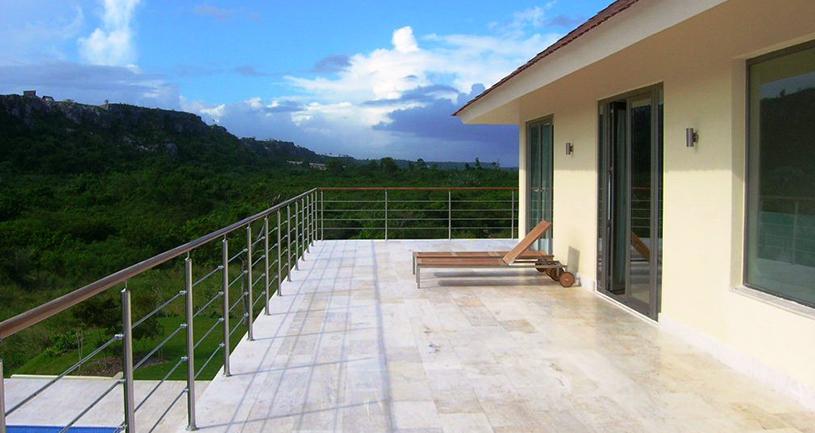 villa las lagunas 26 villa en venta cap cana terraza segundo piso vistas