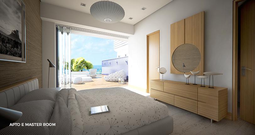 7Mares apartamento E master room en cap cana