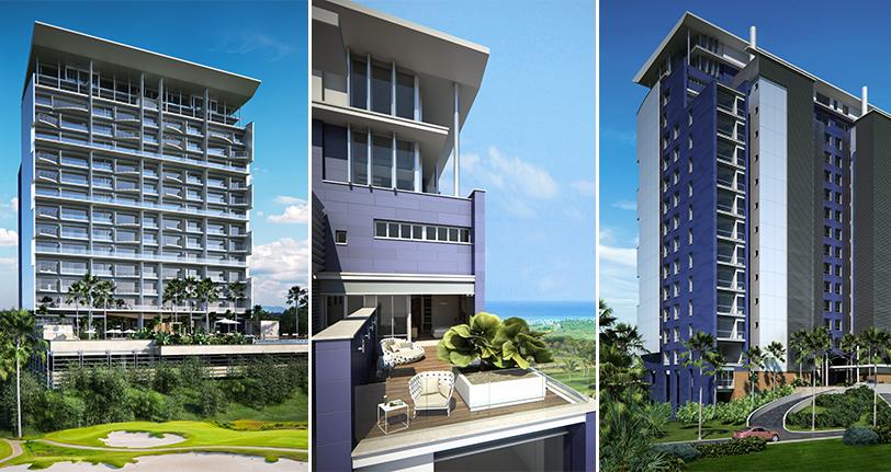 7Mares apartamento en venta en cap cana exterior
