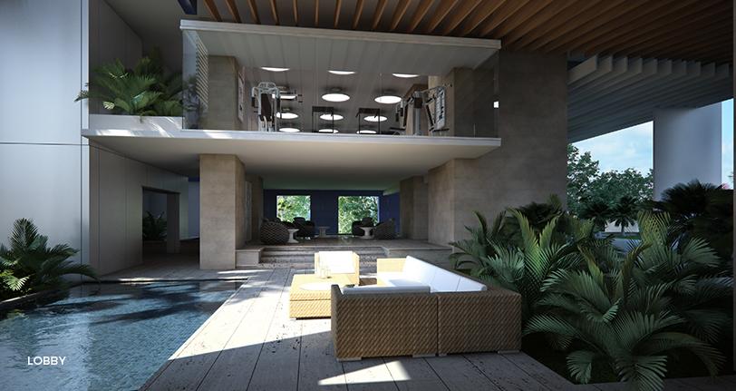 7Mares apartamento lobby cap cana