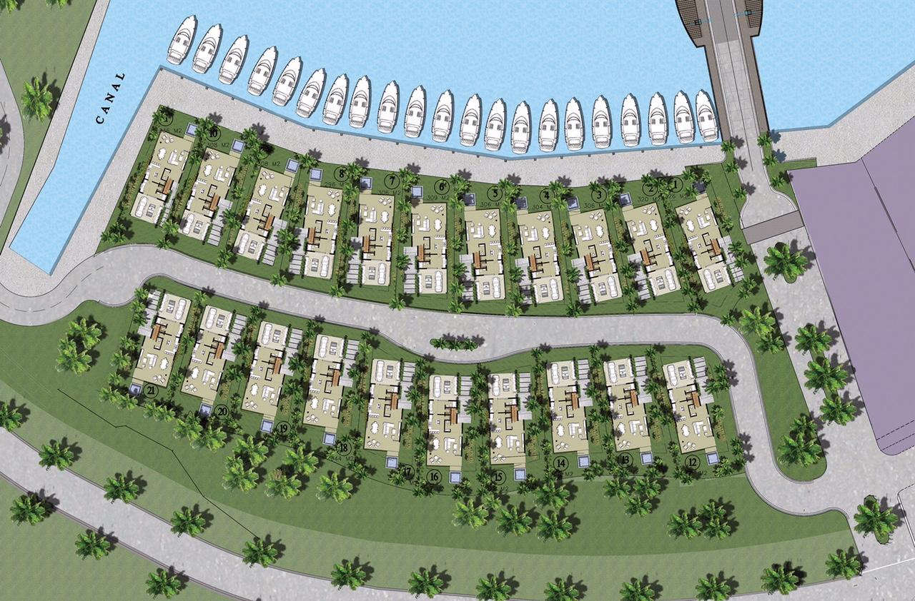 master plan ocean 21 villa for sale at marina cap cana