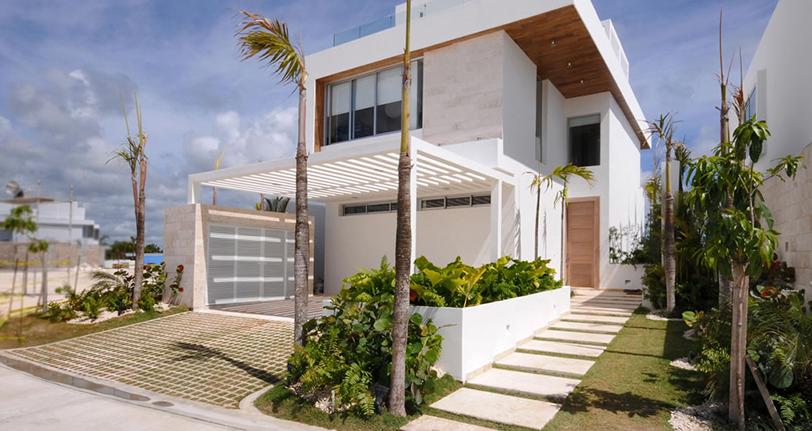 exterior ocean21 villas marina cap cana