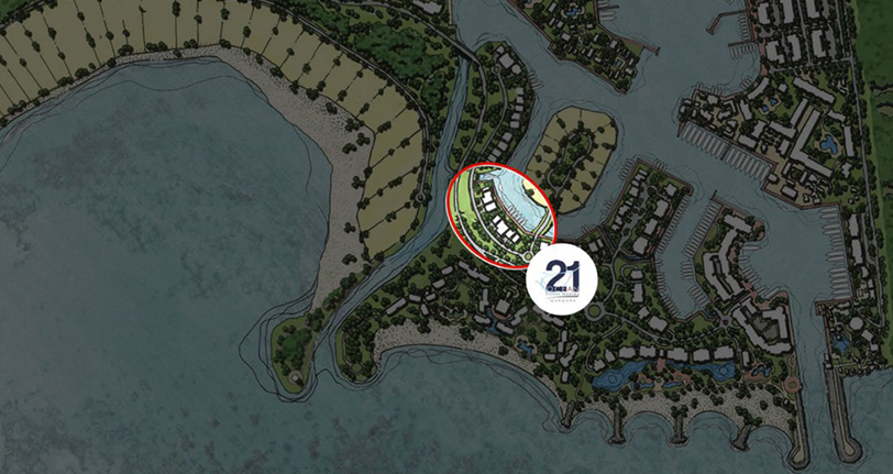 ubicacion ocean21 villas marina cap cana