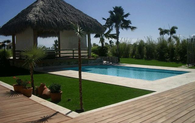 villa en venta en cap cana las palmas 100 piscina