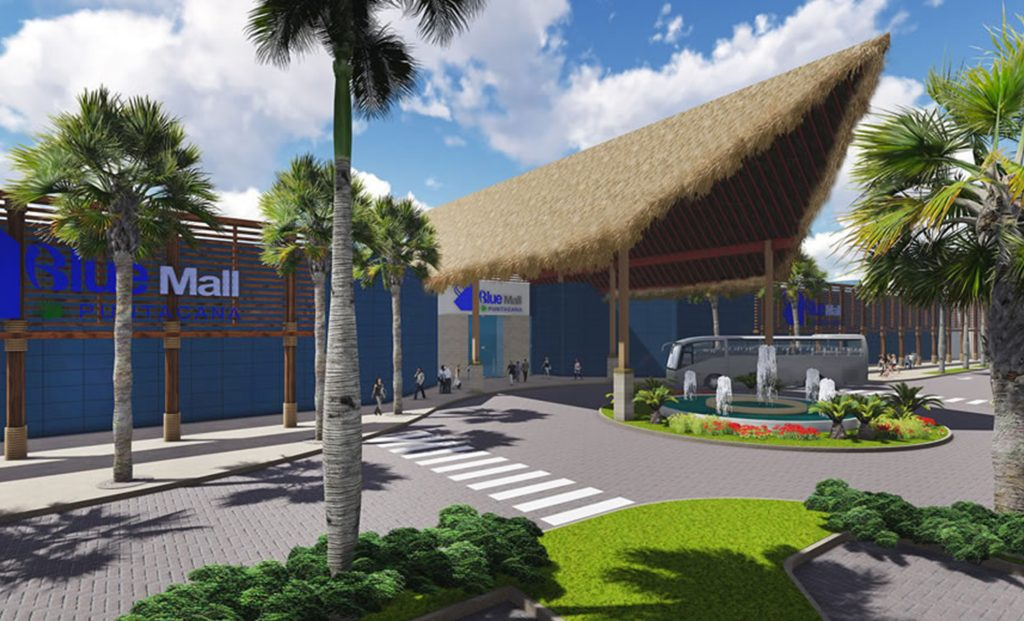inauguran blue mall punta cana