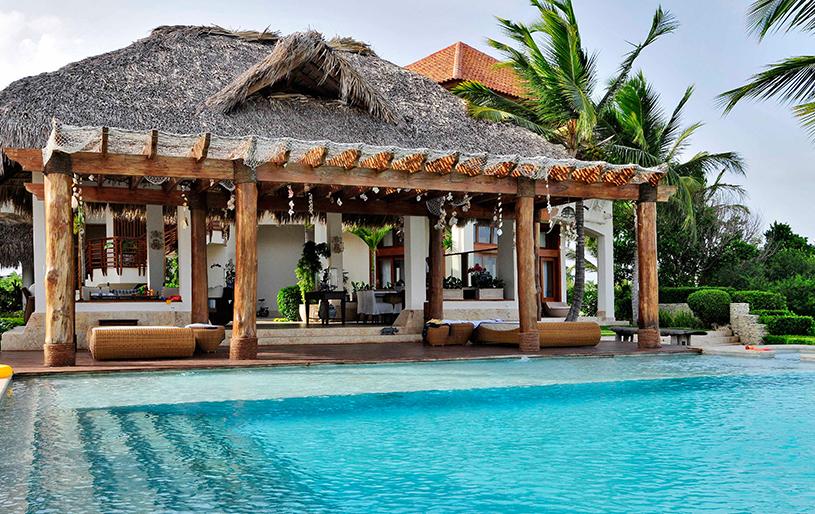 villa vistamar las palmas 133 cap cana real estate exterior piscina